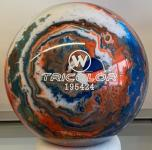 Vollkugel 160 mm TRICOLOR blau-weiß-orange