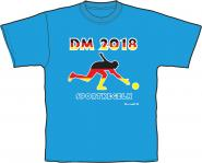 T-Shirt DM 2018 -turquise-